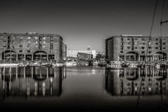 Liverpool Albert Docks Royalty Free Stock Image