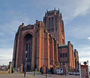 Liverpool Anglican Cathedral Stock Photos