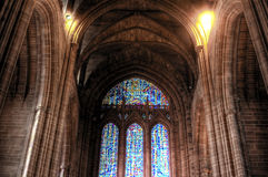 Liverpool anglican cathedral. Inside Liverpool Cathedral, Liverpool, England Stock Image