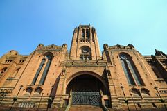 Liverpool Anglican Cathedral. Royalty Free Stock Photo