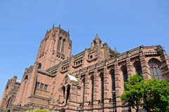 Liverpool Anglican Cathedral. Royalty Free Stock Images