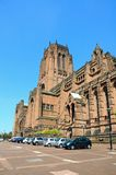 Liverpool Anglican Cathedral. Stock Photos