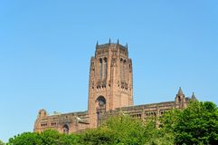 Liverpool Anglican Cathedral. Stock Image