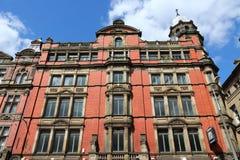 Liverpool apartment building Stock Photo