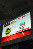Liverpool Asian Tour 2011 Royalty Free Stock Image