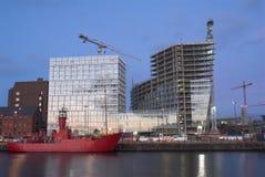 Liverpool-Aufbau Stockbild