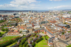 Liverpool. August 2015, cityscape of Liverpool royalty free stock image