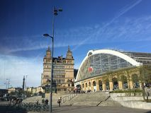 Liverpool-Bahnstation lizenzfreies stockbild
