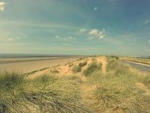 Liverpool beach Royalty Free Stock Image