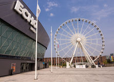 Liverpool Big Wheel and Echo Marina Stock Photos