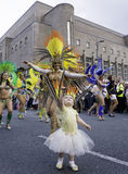 Liverpool brazilica samba in the city Stock Photo
