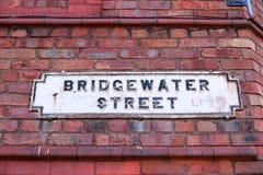 Liverpool - Bridgewater Street Royalty Free Stock Photo