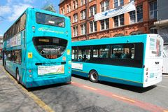 Liverpool buses Stock Photos