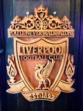 Liverpool Carved Signs Stock Image
