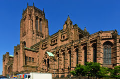Liverpool Cathedral stock image