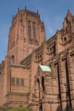 Liverpool Cathedral. On a sunny day royalty free stock photography