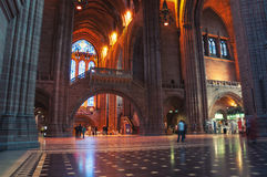 Liverpool Cathedral interior, UK Stock Photo