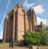 Liverpool Cathedral in Liverpool Stock Photography