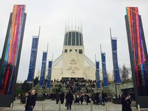 Liverpool Cathedral Stock Photography