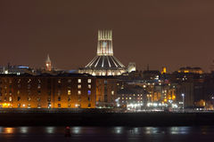 Liverpool catherdral royalty free stock photos