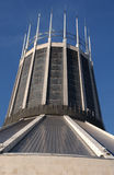 Liverpool Catholic Cathedral. The Catholic cathedral in Liverpool on a sunny day Royalty Free Stock Images