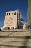 Liverpool Catholic Cathedral. The catholic cathedral in Liverpool,known as the wig wam Royalty Free Stock Photo