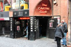 Liverpool - The Cavern Club Stock Images