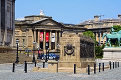 The Liverpool Cenotaph. Royalty Free Stock Photo