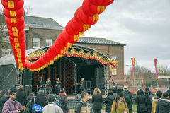 Liverpool Chinese New Year Street Parade Royalty Free Stock Photo