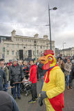 Liverpool Chinese New Year Street Parade Royalty Free Stock Photography