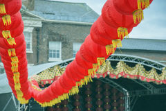 Liverpool Chinese New Year Street Parade Royalty Free Stock Images