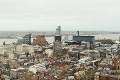 Liverpool city center Royalty Free Stock Image