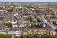 Liverpool City Centre Aerial View Royalty Free Stock Image