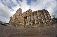 Liverpool - city in Merseyside county of North West England (UK) Stock Photo