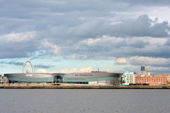 Liverpool City Skyline Stock Photography