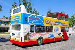 Liverpool City Tour Bus. Stock Images