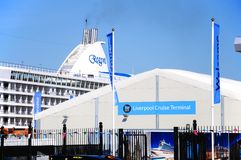 Liverpool Cruise Terminal. Royalty Free Stock Images