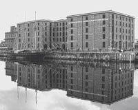 Liverpool docks Royalty Free Stock Photography