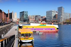 Liverpool docks Royalty Free Stock Photos