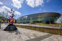 Liverpool Echo Arena Stock Photo