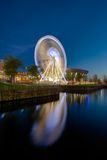 Liverpool Echo Arena and ferris wheel stock photo