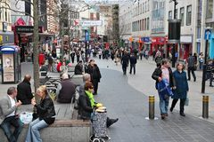 Liverpool Einkaufsgroßbritannien Lizenzfreies Stockfoto