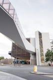 Liverpool en bussstation Arkivfoto