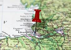 Liverpool in England Lizenzfreie Stockbilder