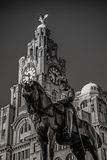 Liverpool, England the UK Stock Image