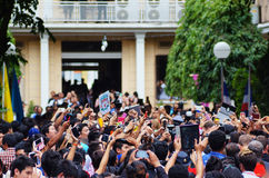 Liverpool fanklubba i det Siriraj sjukhuset Bangkok THAILAND Royaltyfri Bild