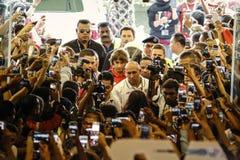 Liverpool FC in Kuala Lumpur Stock Photos