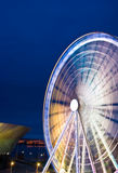 Liverpool ferris wheel in motion Stock Photography