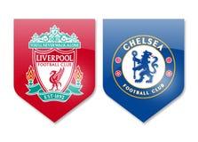 Liverpool gegen Chelsea Lizenzfreie Stockfotografie