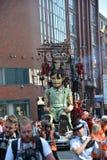 Liverpool Giants - memorias de agosto de 1914 Imágenes de archivo libres de regalías